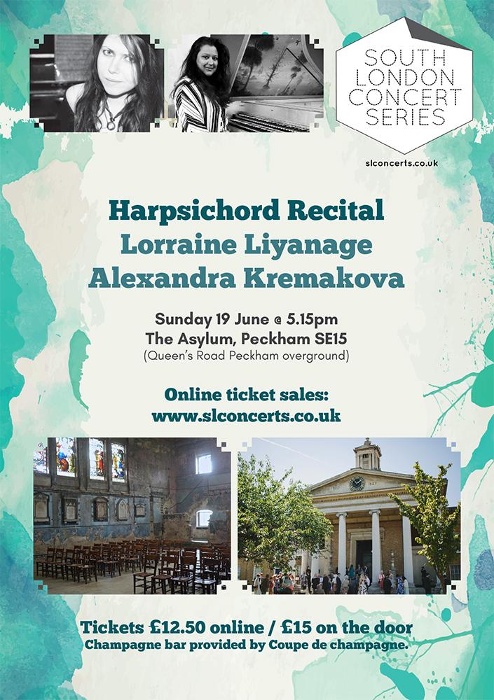 Harpsichord Recital at The Asylum
