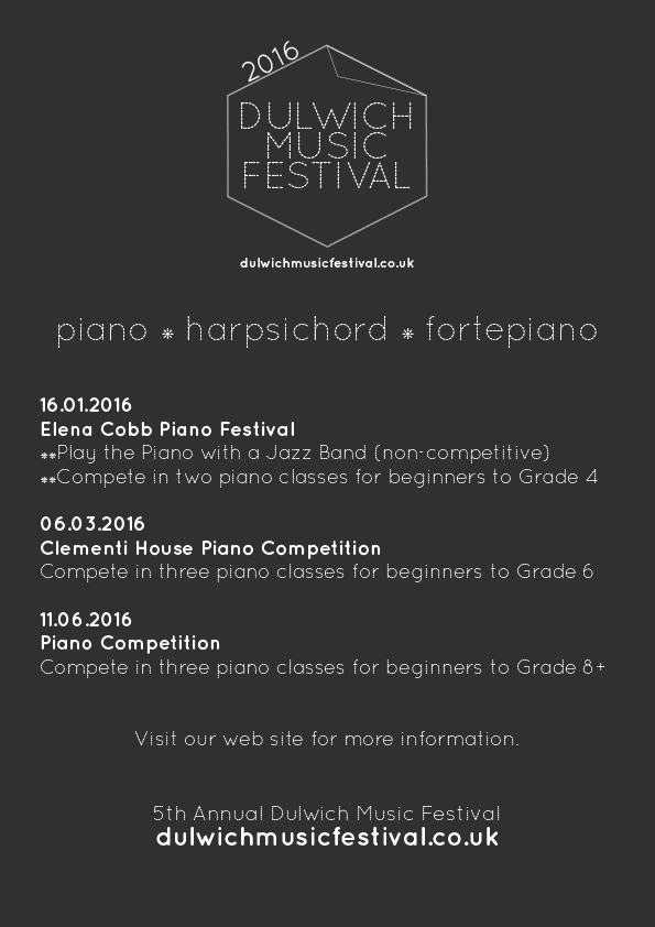 London Piano Competition