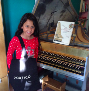 Portico Estate Agents - free tote bags for SE22 Piano School students