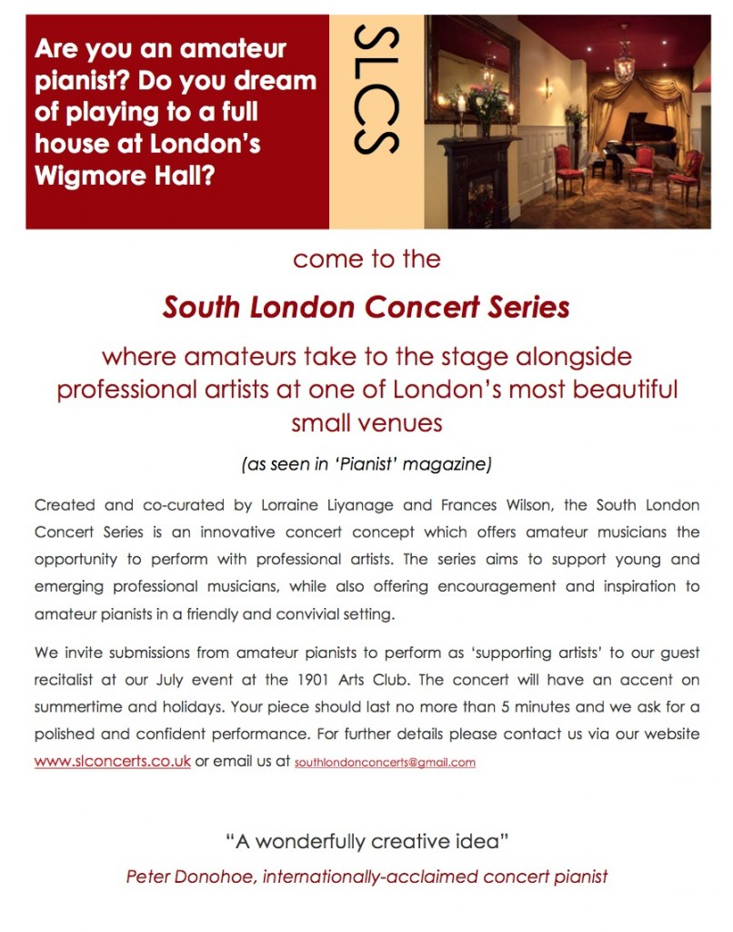 adult amateur piano london – SE22 Piano School ~ East Dulwich