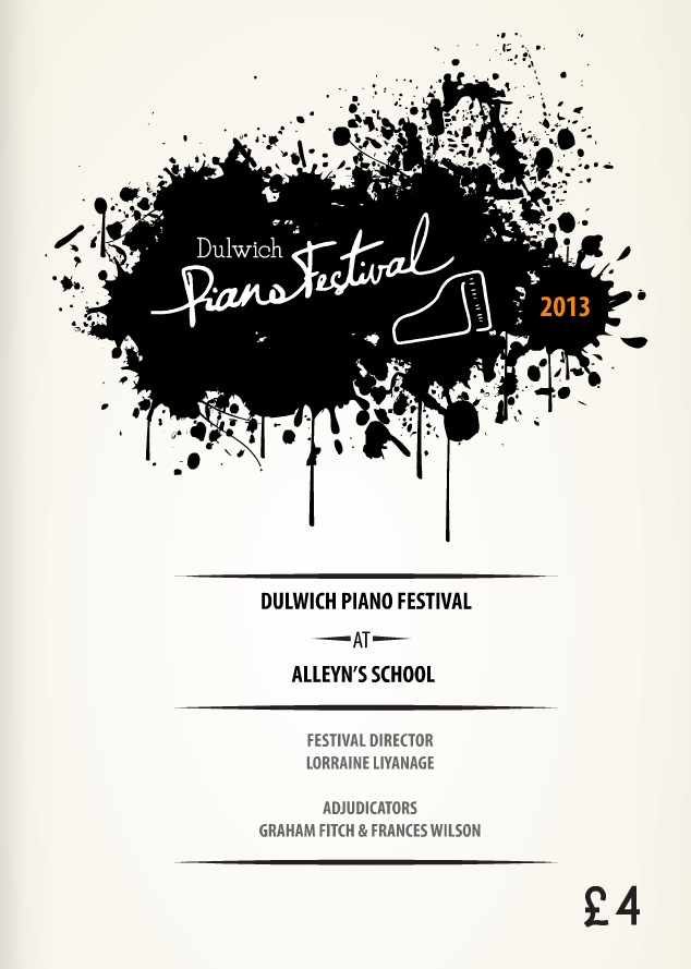 Dulwich Music Festival Printed Programme