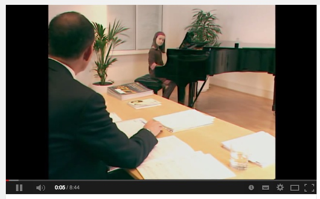Click to watch an ABRSM Exam