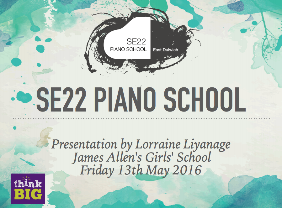 london piano school