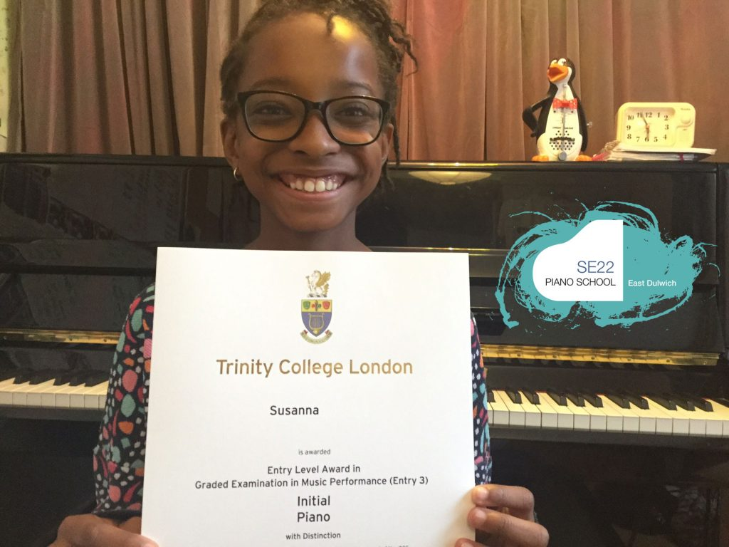 Trinity Initial Piano: Starting Your First Exam – SE22 Piano School