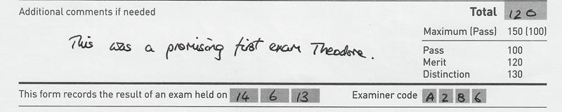 Grade 1 Merit, 120/150