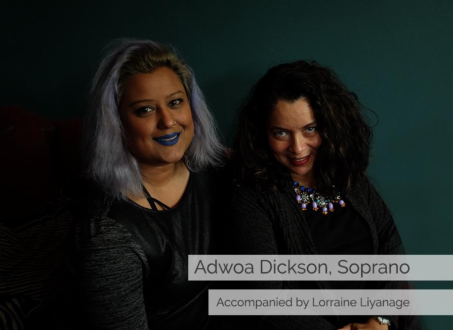 Adwoa Dickson soprano recital in Dulwich Village