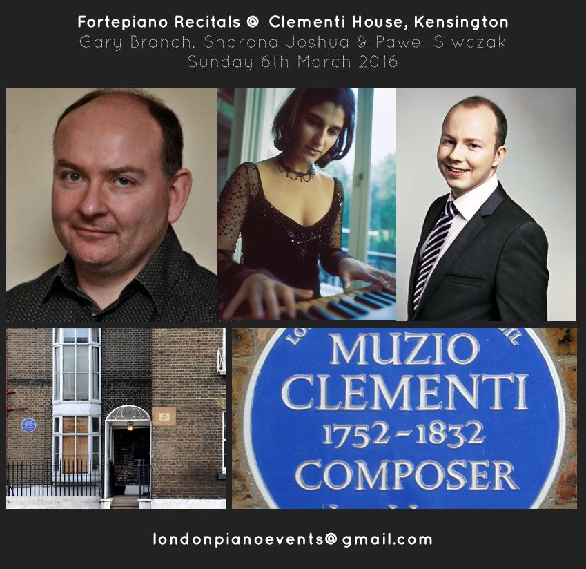 Fortepiano Festival in London