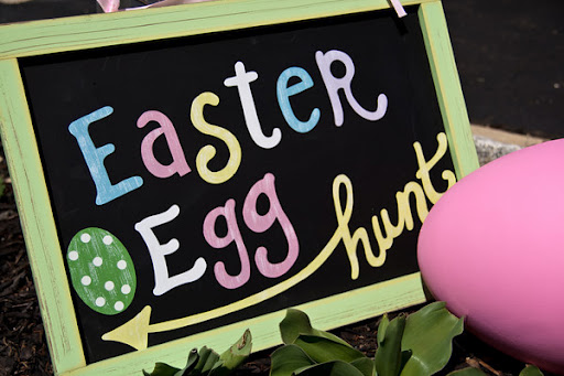 Easter Egg Hunt in East Dulwich