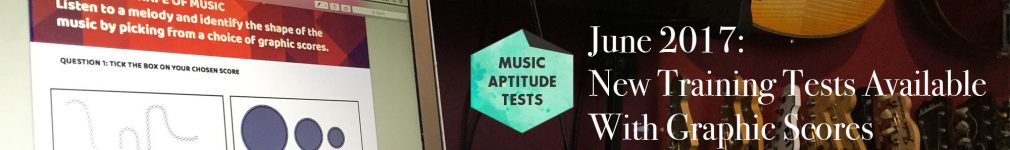 Music Aptitude Tests 2018 State School Entry