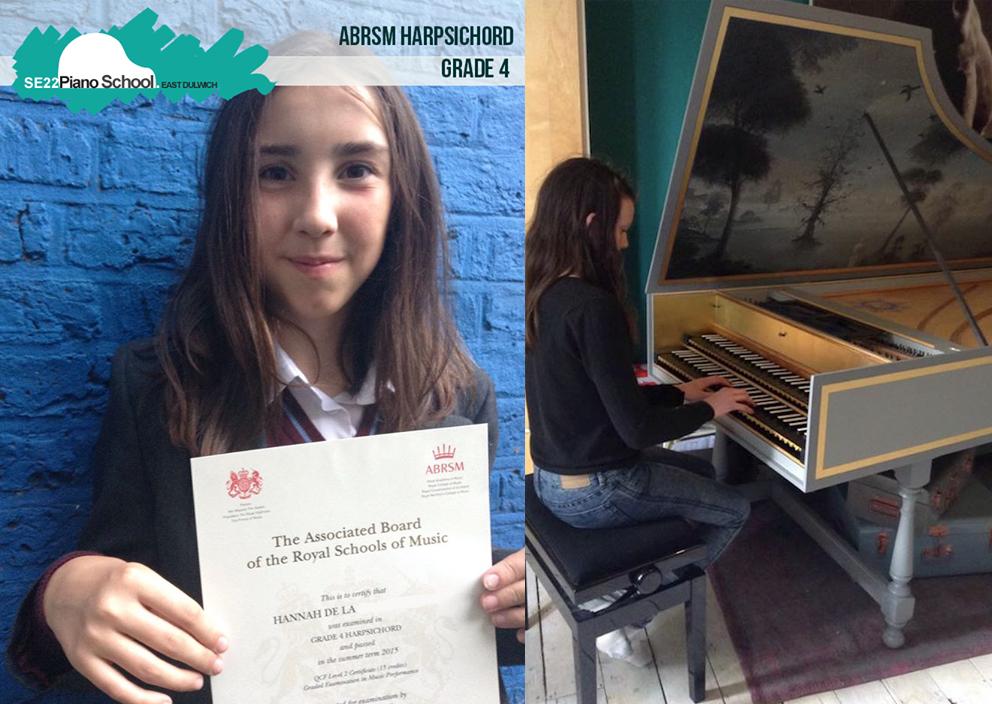 Grade 4 ABRSM Harpsichord